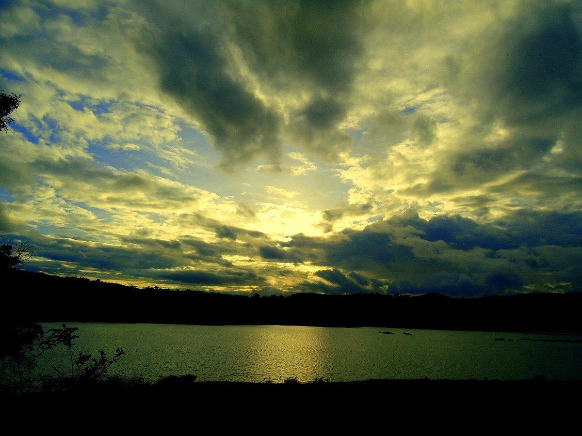 Kaveri River at dusk